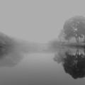 Morning Mist by Win Naing