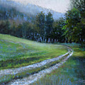 Morning On Blue Mountain Road by Susan Jenkins