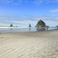 Morning On Cannon Beach by Susan Molnar