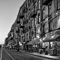 Morning On River Street In Black And White by Greg Mimbs