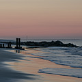 Morning On The Beach At Cape May by Bill Cannon