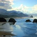 Morning On The Oregon Coast by Joyce Dickens