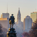 Morning On The Parkway - Philadelphia by Bill Cannon