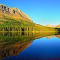 Morning Reflections At Fishercap Lake by Greg Norrell