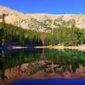 Morning Reflections At Teresa Lake by Greg Norrell