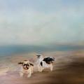 Morning Run At The Beach by Jai Johnson