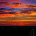 Morning Sky Over Washington D C by William Rogers