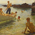 Morning Splendour by Henry Scott Tuke
