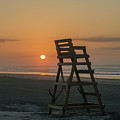 Morning Sun - Wildwood Crest by Bill Cannon