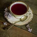 Morning Tea With Lilacs by Jaroslaw Blaminsky