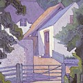 Morning, The South Downs By Robert Polhill Bevan by Robert Polhill Bevan