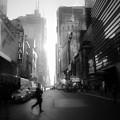 Morning Walk In Ny by Ross Henton