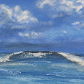 Morning Waves, 9x12, Oil, '08 by Lac Buffamonti
