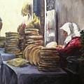 Moroccan Breadmaker by Pamela Nichols