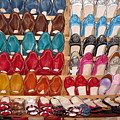 Moroccan Shoes 3 by Cindy Kellogg