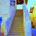 Moroccan Staircase by Lessandra Grimley