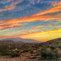 Morongo Valley Sunset by Snake Jagger