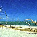 Morris Island Lighthouse 2 by Allen Beatty