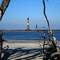 Morris Island Lighthouse Charleston Sc by Susanne Van Hulst