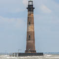 Morris Island Lighthouse In Charleston Sc by Dale Powell