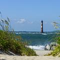 Morris Island Lighthouse Walkway by Jennifer White
