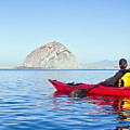 Morro Bay Kayaker by Bill Brennan - Printscapes