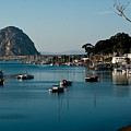 Morro Bay Rock by Roger Mullenhour