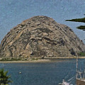 Morro Rock California Painting by Teresa Mucha