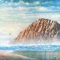 Morro Rock by Douglas Castleman
