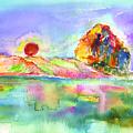 Morro Rock by Shelley Myers