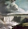 Morse: Niagara Falls, 1835 by Granger