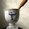 Mortar And Pestle by Kristin Elmquist
