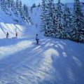 Morzine Ski Run by Andrew Macara