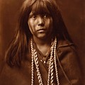 Mosa, Mohave Girl, By Edward S. Curtis, 1903 by Edward S Curtis