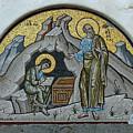 Mosaic At The Grotto Of St John Patmos by Deni Dismachek