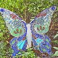 Mosaic Butterfly by Robert Nelson