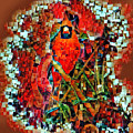 Mosaic Cardinal by Paul Wilford