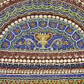 Mosaic Fountain Detail 4 by Teresa Mucha