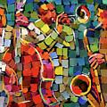 Mosaic Jazz by Debra Hurd