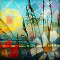 Mosaic Sea Oats by Mary Lewis