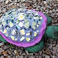 Mosaic Turtle by Jamie Frier