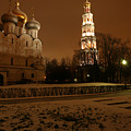 Moscow Cathedral Of Our Lady Of Smolensk by Julian Wicksteed