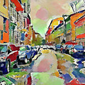 Moscow Color Rain by Yury Malkov