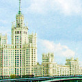 Moscow High-rise Building by Jeelan Clark