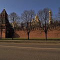 Moscow Kremlin In Winter by Travel Pics