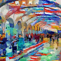 Moscow Metro Station by Yury Malkov
