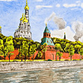 Moscow River by Svetlana Sewell
