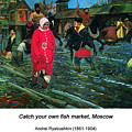 Moscow Street Of 17th Century by John Saunders