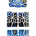 Mosque Foyer Window 1 White by Mark Sellers