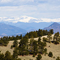 Mosquito Range Mountains From Bald Mountain Colorado by Steve Krull